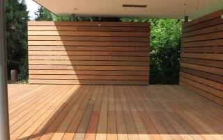 Überdachte Terrasse von Stolz GmbH Bauunternehmung