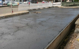 Bauwerkserhaltung - Brückensanierung, Fahrbahnbelag Brücke