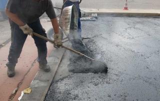 Belagserneuerung Straße, Bauwerkserhaltung