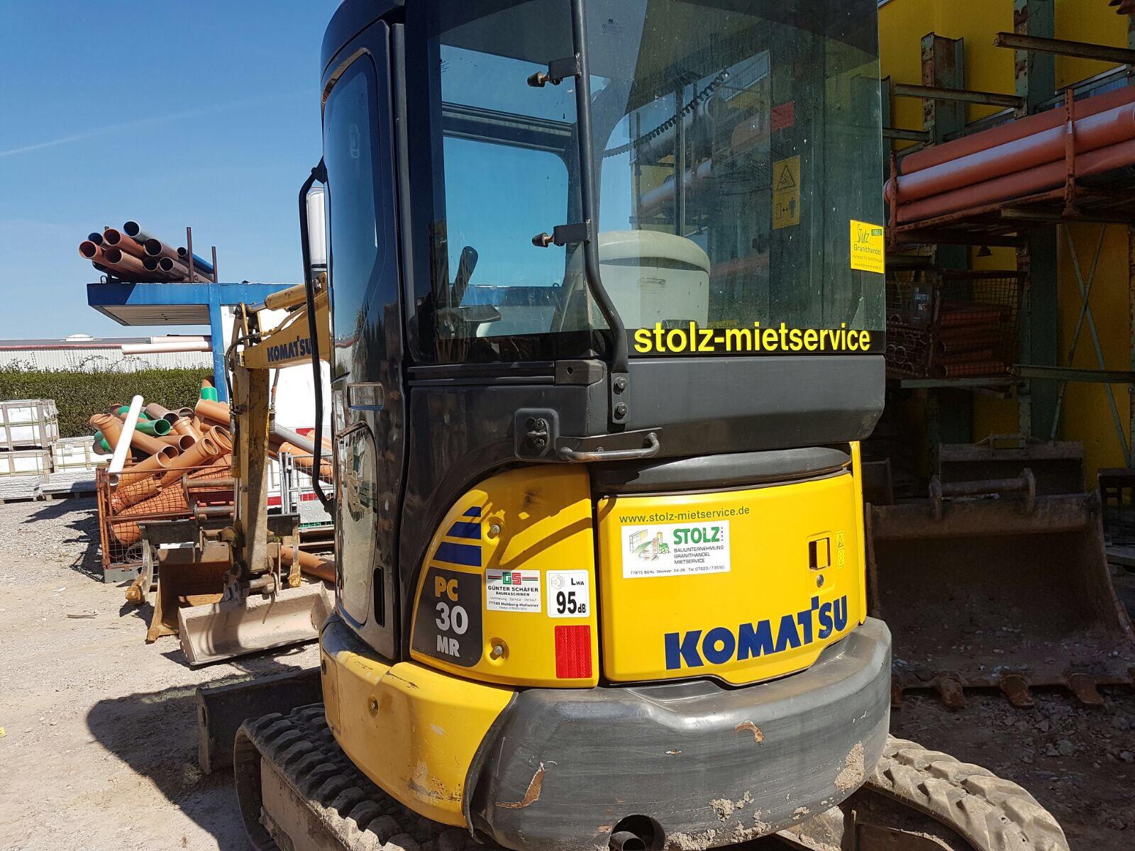 Komatsu Minibagger Stolz GmbH Bauunternehmung - Mietservice in Bühl/Baden