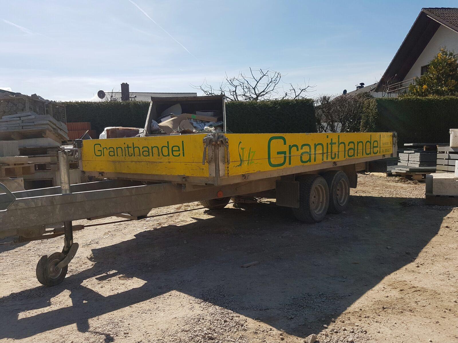 Anhänger - Stolz GmbH Bauunternehmung - Mietservice