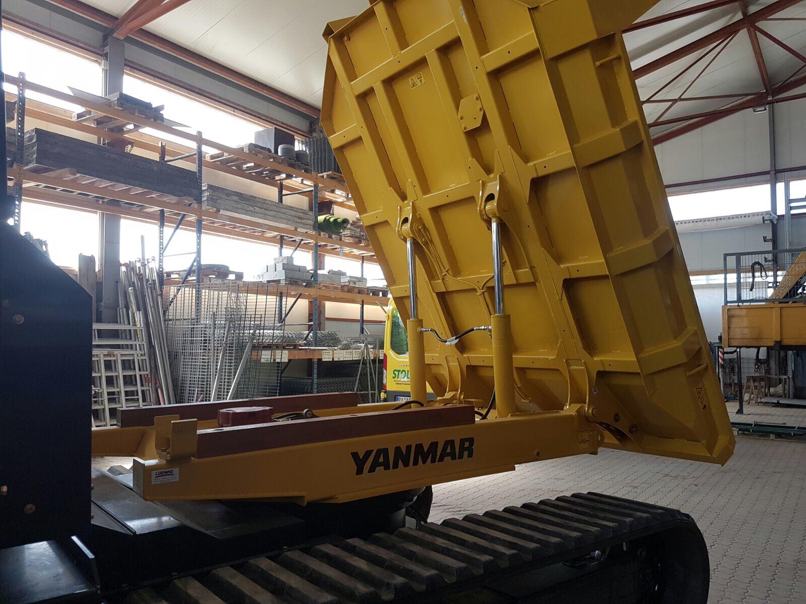 Yanmar Raupendumper - Stolz GmbH Bauunternehmung - Mietservice